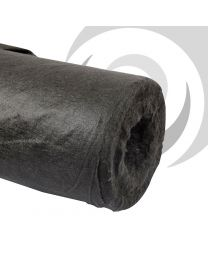 65g Woven Geotextile 4.5 x 100m Roll; Black