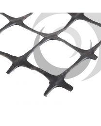 SX Grid 20/20 Biaxial Geogrid 4x50m Black