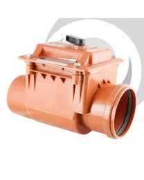 110mm Backflow / Non Return Valve, Single Socket