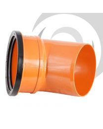 110mm UPVC  Single Socket 45 Degree Bend