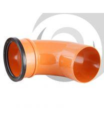 110mm UPVC Single Socket 90 Degree Bend