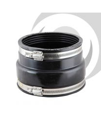"121-137mm / 110-122mm Bandseal Adaptor 4"" Clay/Plastic"