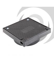 140x140mm Plastic Square Rodding Eye 110mm