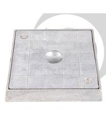 150mm Aluminium Square Sealing Plate