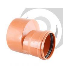 160mm Spigot to 110mm Socket Reducer