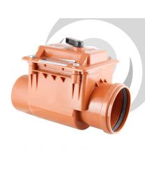 160mm Backflow / Non Return Valve, Single Socket