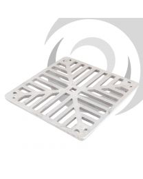 Aluminium Square Bottle Gully Grate 198x198mm