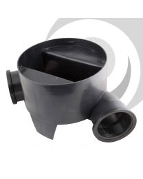 280mm Chamber Base 110mm Inlet, 90 Degree Channel
