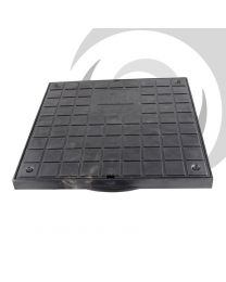 280mm Square Polypropylene Cover & Frame