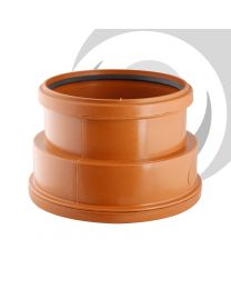 "6""/160mm Double Socket Clay To Plastic Adaptor"