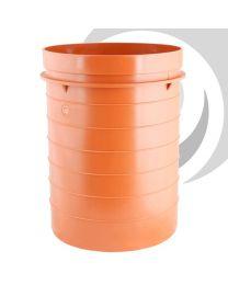 Bottle Gully Raising Piece x225mm High Orange