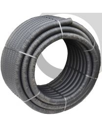Perforated Land Drain: 60mm x 50m Coil; Black