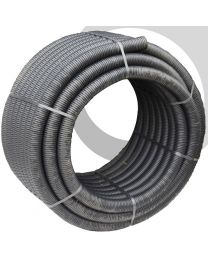 Perforated Land Drain: 80mm x 25m Coil; Black
