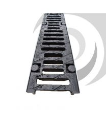 F100K 100mm Ductile Iron Slotted Grating x 0.5m F900