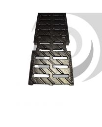 MULTIV 100mm Slotted Heelguard Grating D400