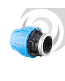 "63mm x 1 1/2"" Comp. Adaptor FEMALE Thread"