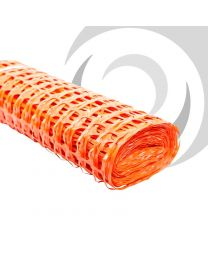 1m x 50m Barrier Fencing Mesh; Orange
