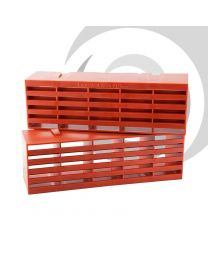 215x69x60mm Polyprop. Air Brick; Terracotta