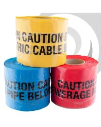 Detectable U/G Warning Tape - Water Pipe