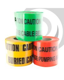 Underground Warning Tape Communications Cable