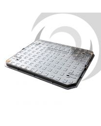 600mm x 450mm Cast Iron Manhole Cover: A15