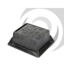 Ductile Iron Stop Tap Cover: 140 x 115mm; A15