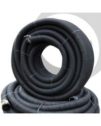75mm Twinwall Duct x 50m; Black