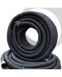 90mm Twinwall Duct x 50m; Black