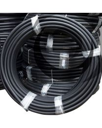 38/44mm Polyethylene Duct x 100m Coil; Black