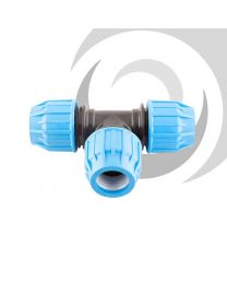 63mm Compression Equal Tee Junction