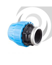 "90mm x 2 1/2"" Comp. Adaptor FEMALE Thread"