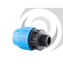 "90mm x 2 1/2"" Compression Adaptor MALE Thread"