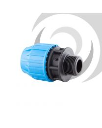 "90mm x 2"" Compression Adaptor MALE Thread"