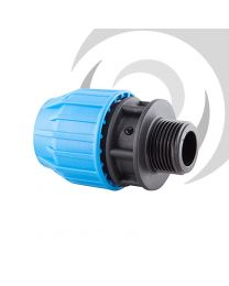 "90mm x 3"" Compression Adaptor MALE Thread"