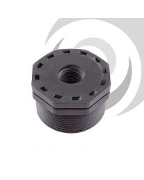 "2 1/2"" x 2'' Plasson Threaded Reducing Bush"