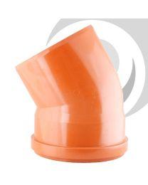 200mm Single Socket 30 Degree Bend