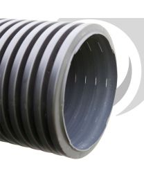 150mm Perforated BBA Twinwall Plain End Pipe