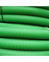 63mm OD Twinwall Duct x50m; Green