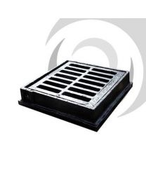 Flat Iron Gully Grate: 300 x 300mm: B125