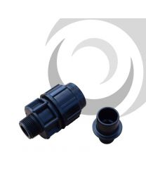 "63mm Puriton x 1 1/2"" Male Adaptor; Type A"