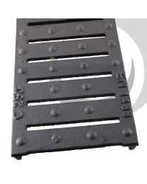 F100K 100mm Ductile Iron Heelguard Grating F900