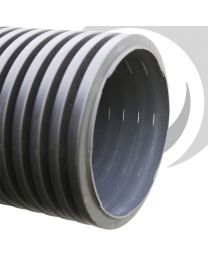450mm Land Drainage Twinwall Perforated Pipe 6m