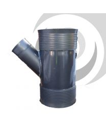 300/150mm Twinwall Surface Water Drain Unequal Y Junction
