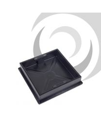 300mm x 300mm Recessed Block Pavior Manhole Cover (poly. frame)