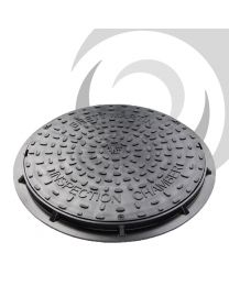 450mm Circular Polypropylene Cover & Frame