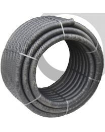 60mm Black Perforated Land drainage 150m Coil