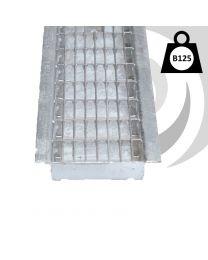 EUROSELFV+ Galvanised Steel Heelguard Mesh Grating B125