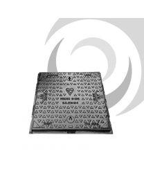 600mm x 450mm Ductile Iron Manhole Cover & Frame: B125