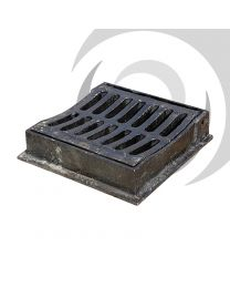 325mm x 300mm Dished Ductile Iron Gully Grate: C250