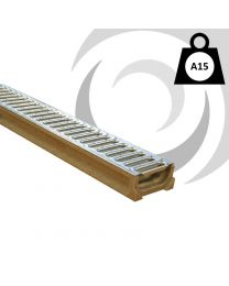 Low Profile MINIKIT Polymer Channel & Grating x 1m